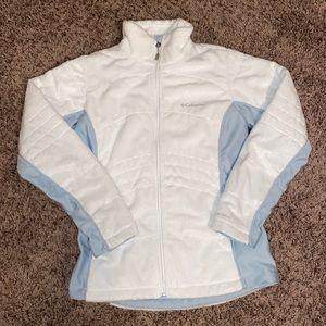 Columbia Omni Heat Blue & White Jacket